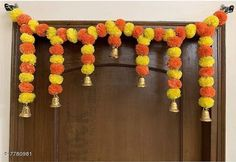 Toran & Wall Hangings Diwali Special Toran for Home Décor  Material: Plastic Pack: Pack of 1 Country of Origin: India Sizes Available: Free Size   Catalog Rating: ★4 (7476)  Catalog Name: Graceful Festive Toran CatalogID_1270252 C128-SC1318 Code: 581-7780981-