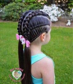 21 Encantadores Peinados para Niña que tu hija deseará tener - Baby Girl Hairstyles, Kids Braided Hairstyles, Loose Hairstyles, Pretty Hairstyles, Kids Hairstyle, Girl Hair Dos, Girl Short Hair, Kid Braid Styles, Long Hair Styles