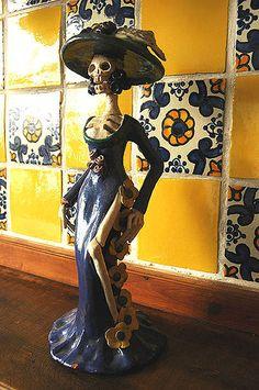 Altars and Catrinas at Parque las Palapas « Gringation Cancun