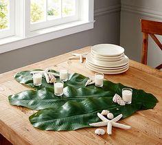 Faux Banana Leaf Palm #potterybarn