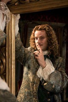 The amazing Evan Williams as the brilliant Chevalier de Lorraine
