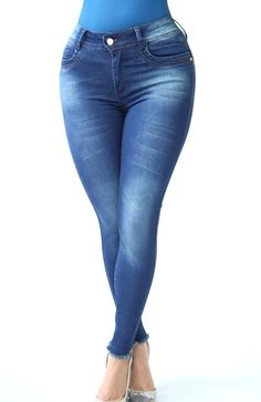 Ref: 410-2 JEAN OCHENTERO 1 BOTON  (Stone Oscuro) Skinny Jeans, Pants, Fashion, Trousers, Clothes, Dark, Buttons, Darkness, Skinny Fit Jeans