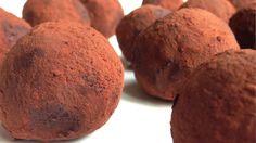 Trufas de almendra y cacao