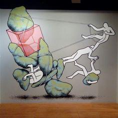 Obra de Daan Botlek en la exposición Diez años de @festivalasalto, en el Centro de Historias hasta el 15 de Noviembre #decimoasalto #zaragozaguia #zaragoza #regalazaragoza #zaragozapaseando #zaragozaturismo #zaragozadestino #miziudad #zaragozeando #mantisgram #magicaragon #loves_zaragoza #loves_aragon #igerszaragoza #igerszgz #igersaragon #instazgz #instamaños #instazaragoza #zaragozamola #zaragozacity