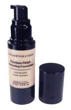 Colorevolution 100% Natural Mineral Liquid Foundation, L1 - Light, 1.0 Fluid Ounce ** This is an Amazon Affiliate link. For more information, visit image link.