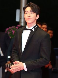 181004 Nam Joo Hyuk at the Busan International Film Festival red carpet Nam Joo Hyuk Tumblr, Nam Joo Hyuk Cute, Joon Hyung, Park Hyung Sik, Jong Hyuk, Song Wei Long, Nam Joohyuk, Seo Kang Joon, Weightlifting Fairy Kim Bok Joo