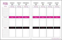 Paper and Glam Planner Weekly Erin Condren layout