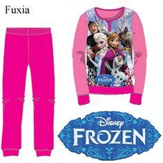 Pijama polar niña frozen