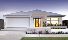 Our extensive experience as a builder in Perth and across Western Australia has led to the creation of an exclusive range of popular home designs. Facade Design, Exterior Design, Australia House, Western Australia, Rendered Houses, Small Modern House Plans, House Design Pictures, Front Courtyard, House Elevation