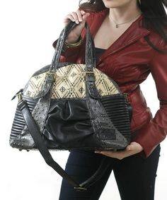 This Black Gladiola Diaper Bag by amykathryn is awesome! Instead of buying a woman's brief case for work I decided to go for a fashion diaper bag! Its got great space, its comfortable to carry and it looks awesome! Fashionable Diaper Bags, Women's Briefs, Canvas Designs, All In One, Organizing, Organization, Shoulder Bag, Chic, Baby Ideas