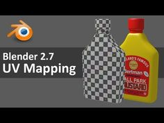 Blender 2.7 UV Mapping 1 of 4 - YouTube