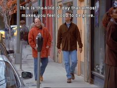 Seinfeld: (George Costanza having a nice day) Top Tv Shows, Best Tv Shows, Favorite Tv Shows, Tv Show Quotes, Movie Quotes, Movie Memes, George Costanza, Jerry Seinfeld, Seinfeld Meme