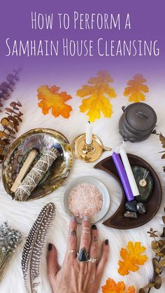 How to Perform a Samhain House Cleansing & Blessing Samhain Ritual, Witch Rituals, Blessed Samhain, Wiccan Witch, Magick, Witchcraft, Samhain Traditions, Samhain Halloween, Halloween Facts