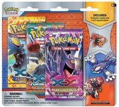 Pokemon Primal Reversion Collector's Pin 3-Pack - Primal Groudon or Primal Kyogre