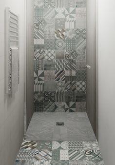 Patricia Urquiola Tiles - Tiles available instore at TILE junket Gordon Avenue Geelong West 3218 Bathroom Tile Designs, Bathroom Renos, Bathroom Colors, Bathroom Interior Design, Small Bathroom, Master Bathroom, Modern Bathroom, Room Wall Tiles, Shower Floor Tile