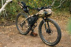 Chumba Ursa 29+ BC, bikepacking bike, wanderlust bags