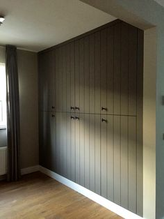 Home Decor Kitchen, Home Decor Bedroom, Bedroom Built In Wardrobe, Wooden Cupboard, Bedroom Cupboards, Home Upgrades, Modern Architecture House, White Home Decor, White Houses