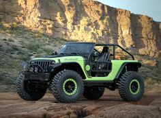 here's a new king in the world of all terrain driving and it has the heart of a feline. At the 2016 Easter Jeep Safari in Moab, Utah, #Jeep unveiled the ultimate trail-conquering machine – the Trailcat concept. Boasting a supercharged V-8, off road wheels and tires, and custom design, the #Trailcat concept has everything you need and then some. Discount Wheels www.wheelhero.com