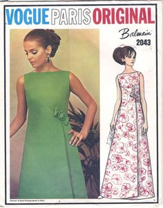 Vogue 2043 - Vintage Sewing Patterns