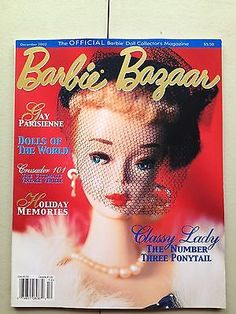 December 2002 Collector Dolls, Vintage Barbie, Magazine Covers, 18th Century, Barbie Dolls, Scale, December, Memories, Words