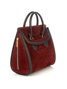 Alexander mcqueen Heroine Bag in Brown (burgundy)