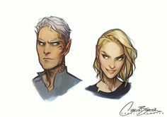 Aelin and Rowan | TOG | by Charlie Bowater