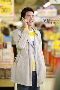 SBS Angel Eyes - Lee Sang Yoon (Park Dong Joo) at the supermarket.