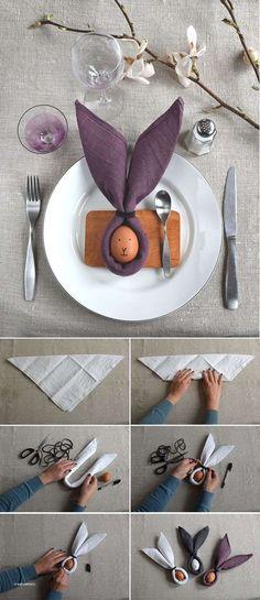 Best 25 Easter table settings ideas on Pinterest