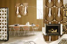 """El """"animal print """" es tendencia no solamente en el mundo de la moda, también lo es en la decoración. En cuanto a paredes, el papel..."""