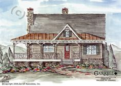 Creekstone Cabin House Plan | Cabin House Plans