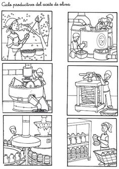 Secuencias Temporales para recortar y colorear! Sequencing Pictures, Sequencing Cards, Story Sequencing, Kindergarten, First Fathers Day Gifts, Picture Story, How To Make Comics, Autumn Activities, Stories For Kids