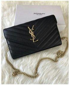 Ysl Handbags, Fashion Handbags, Purses And Handbags, Fashion Bags, Gucci Purses, Trendy Purses, Purses For Sale, Cute Purses, Ysl Wallet On Chain