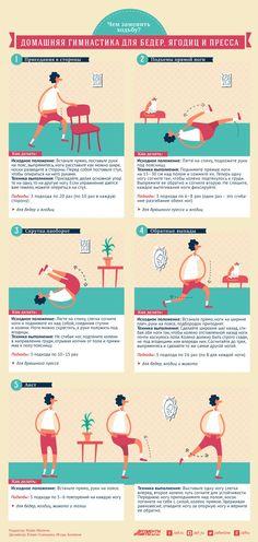 Чем заменить ходьбу? Домашняя гимнастика для бедер, ягодиц и пресса | Секреты красоты | Здоровье | Аргументы и Факты