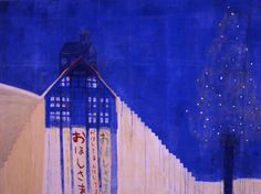 Hiroshi Sugito, 'Starry Night', 1992, acrylic, pigment, paper on panel, 182 x 242 cm. Image courtesy the artist and M16 Art Space.