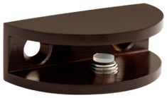 This Oil Rounded Glass Shelf Bracket is very easy to install and keeps either glass, acrylic or wood shelves firmly in place. Works with glass thi. Glass Shelf Brackets, Decorative Shelf Brackets, Glass Wall Shelves, Wood Shelves, Bathroom Shelves Over Toilet, Bathroom Storage Shelves, Basket Shelves, Bathroom Hardware, Bathroom Fixtures