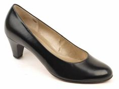 Ladies Mustard Wide Fitting Shoes