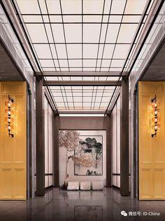 Public Hotel, Hotel 6, Hotel Lobby, Changi Business Park, Hotel Corridor, Elevator Lobby, Chinese Interior, Corridor Design, Lobby Lounge