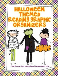 Halloween Themed Reading Graphic Organizers $Paid Product