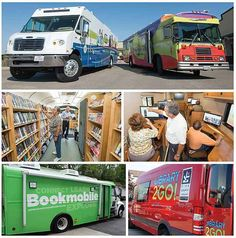 Bookmobile Sustainability article Delivering the Library By Bob Warburton on September 26, 2013