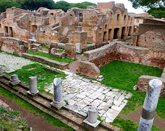 Ostia Antica.  A great history lesson day trip from Roma.