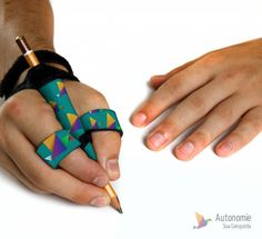 Hand Exercises For Arthritis, Adaptive Equipment, Sensory Integration, Hand Therapy, Assistive Technology, Occupational Therapy, Health, Product Design, Writing