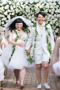 Buzzfeed | Beth Ditto & Kristin Ogata tie the knot in Hawaii. Awwwww