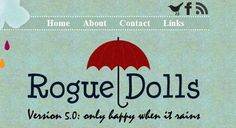 25 Beautiful Websites Using Subtle Textures - a website home page that looks like a business card