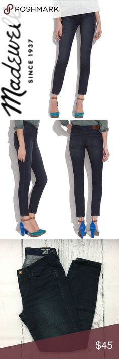 """Madewell Skinny Skinny Ankle Jeans ✔️Inseam: 28"""" approx. ✔️98% Cotton•2% Spandex ✔️No Holes, Stains or Damages Madewell Jeans Ankle & Cropped"""