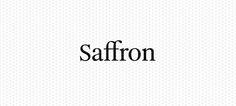 #inspiringbrands _Saffron