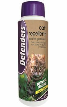 View the Defenders Cat Repellent Scatter Granules - 450g