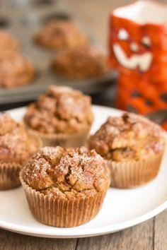 Refined Sugar Free Pumpkin Raisin Pecan Muffins | Gluten Free with L.B ...