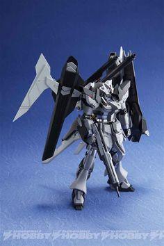 P-Bandai Exclusive: HGBF 1/144 Hi-Nu Gundam Influx - Images via Dengeki Hobby Web