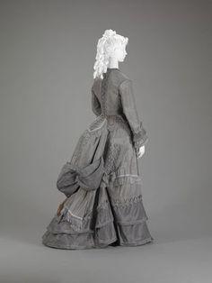 Walking Suit, 1870s