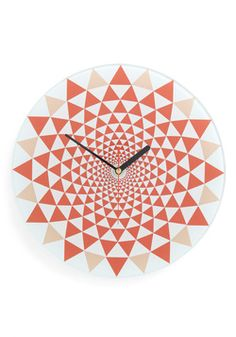 Illusion of Time Clock, #ModCloth